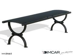 Panchina in metallo in stile classico senza schienalePanca Lory - DIMCAR