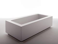 Kos by Zucchetti, GRANDE Vasca da bagno rettangolare