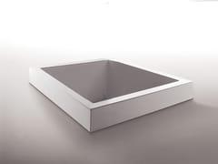 Kos by Zucchetti, GRANDE QUADRA Vasca da bagno quadrata in metacrilato da incasso
