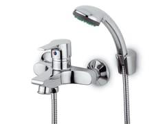 Miscelatore per doccia a 2 fori con doccetta FLAT | Miscelatore per doccia con doccetta - Flat