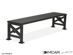 Panchina in metallo in stile classico senza schienalePanca Orchidea - DIMCAR