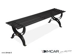 Panchina in metallo in stile classico senza schienalePanca Dalia - DIMCAR
