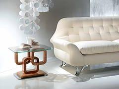 Tavolino basso in legno e vetro da salottoCONTEMPORARY VISION   Tavolino - CARPANELLI