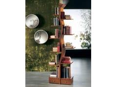 Libreria autoportante laccata foglia oro con illuminazioneGIOVANE ALBERO - CARPANELLI
