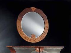 Specchio rotondo con cornicePALISSANDRO | Specchio - CARPANELLI