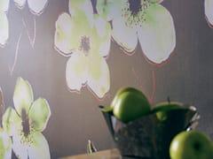 Élitis, EXOTIC DANDY Carta da parati in tessuto sintetico con motivi floreali