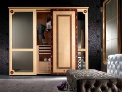 Armadio in legno con ante scorrevoli con specchioSISSI | Armadio - CARPANELLI