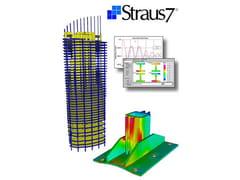 Solutore strutturale ad elementi finiti (FEM)Straus7 - BASE - HSH