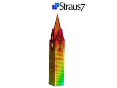 Calcolo edificio in muratura e mistoStraus7 - MODULO SOLUTORI NON LINEARI - HSH