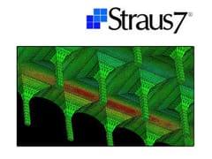 HSH, Straus7 - MODELLAZIONE DI MATERIALI COMPOSITI Calcolo struttura composita e rinforzo FRP