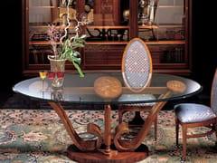 Tavolo da pranzo in cristalloLE VOLUTE | Tavolo - CARPANELLI