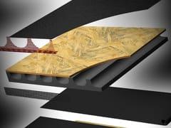 Pannello termoisolante ventilato compositoLAMBDAWOOD - CABOX