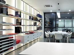 Libreria a parete laccataSTORE | Libreria - ADIELLE