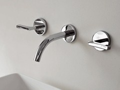 Rubinetto per lavabo a 3 fori a muro SIMPLY BEAUTIFUL | Rubinetto per lavabo - Simply Beautiful