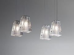 Lampada a sospensione in cristallo VICKY | Lampada a sospensione in cristallo - Vicky