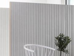 Pannello divisorio fonoassorbente in legnoDOREMI - ABSTRACTA
