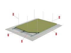 LINK industries, TECBOR MC 12+12/60 MW Controsoffitti a membrana