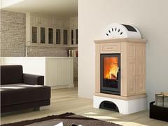 Stufa per riscaldamento ariaBRUNICO | Stufa a legna - PIAZZETTA