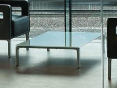 Tavolino rettangolare in vetro ANTEA | Tavolino rettangolare - Antea