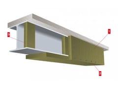 LINK industries, Travi Paroc sp Lastra ignifuga per elemento strutturale