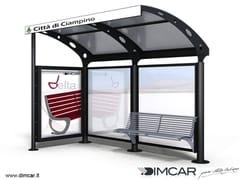 Pensilina per fermata autobusPensilina Ciampino - DIMCAR