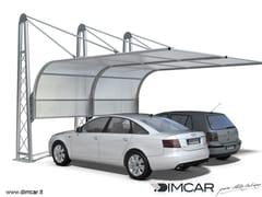 Pensilina in acciaio per posto autoCopertura per auto Airone - DIMCAR