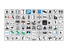 Simboli per segnali di indicazioneSegnale stradale - LAZZARI SRL
