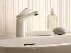 Miscelatore per lavabo da piano monoforo verniciato LEVANTE | Rubinetto per lavabo verniciato - Levante