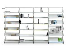 Libreria ufficio modulare in acciaioLEVEL - ACTIU