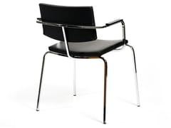 Sedia da ristorante impilabile con braccioli SLIM | Sedia con braccioli - Select