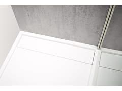 Piatto doccia in Corian®R1 | Piatto doccia - REXA DESIGN
