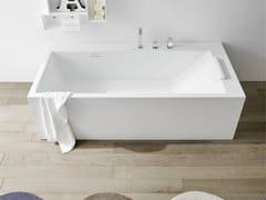 Vasca da bagno rettangolare in Corian® UNICO | Vasca da bagno rettangolare - Unico