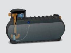 Impianto recupero acque piovane provenienti da tettiSistema di recupero acqua piovana - STARPLAST