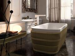 Vasca da bagno rettangolare in corda PEARL | Vasca da bagno rettangolare - Home & Spa Rituals