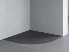 Piatto doccia angolare filo pavimento RAZOR | Piatto doccia angolare - Showering