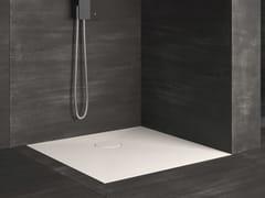 Piatto doccia filo pavimento quadrato RAZOR | Piatto doccia quadrato - Showering