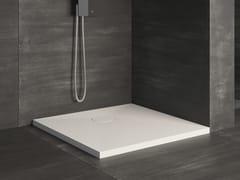 Piatto doccia quadrato ultrapiatto RAZOR | Piatto doccia quadrato - Showering