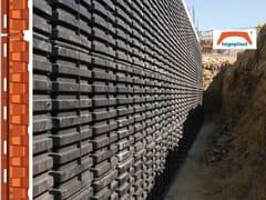 Cassero per isolamento e protezione pareti interrateTEGOPLAST | Pareti interrate - PLASTICFORM
