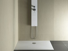 Piatto doccia filo pavimento rettangolare SET | Piatto doccia rettangolare - Showering