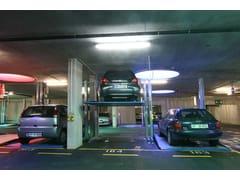 Sistema di parcheggio per due auto sovrapposteBIPARK 26 - O.ME.R.