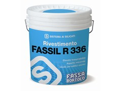 Rivestimento minerale ai silicati rusticoFASSIL R 336 - FASSA