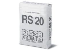 FASSA, BETONCINO RS 20 Betoncino premiscelato