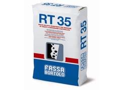FASSA, RT 35 Malta per iniezione per ancoraggio di tiranti
