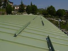 Standing steem roofings