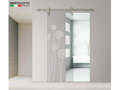 Bertolotto Porte, 3245 - DECORO SOFFI Porta scorrevole in vetro senza telaio