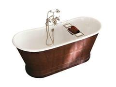 Vasca da bagno in ghisa rivestita in pelle YORK | Vasca da bagno - Vasche da bagno in ghisa
