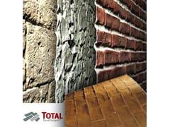 Rivestimento di facciata in pietra artificiale total panel system