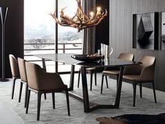 Tavolo rettangolare in marmo CONCORDE | Tavolo rettangolare - Concorde