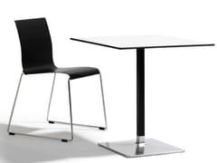 Tavolo quadrato in alluminio LEVEL | Tavolo quadrato - Level
