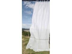 Tenda a bastone in linoGENZIANA | Tenda a bastone - LA FABBRICA DEL LINO BY BERGIANTI & PAGLIANI